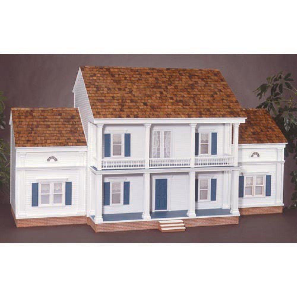 Amazon.com: Dollhouse Miniature Twelve Oaks Dollhouse Kit by RGT: Toys & Games