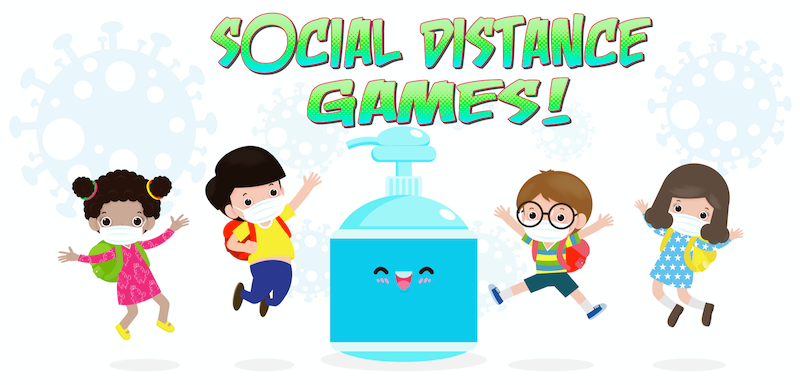 Kidology Inc. Social Distance Games in 2020 Social