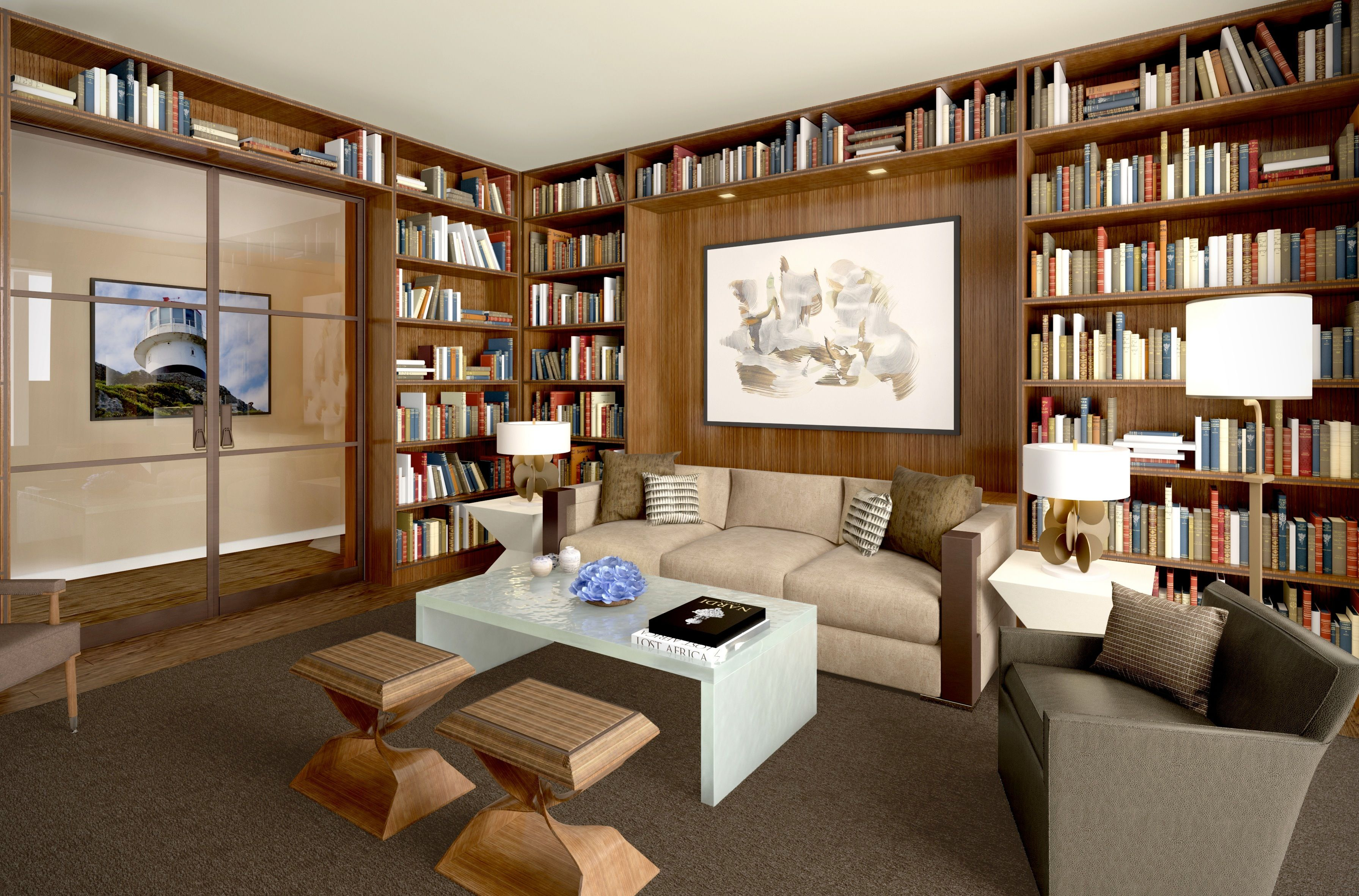 inspiring home libraries library inspiration organizing and