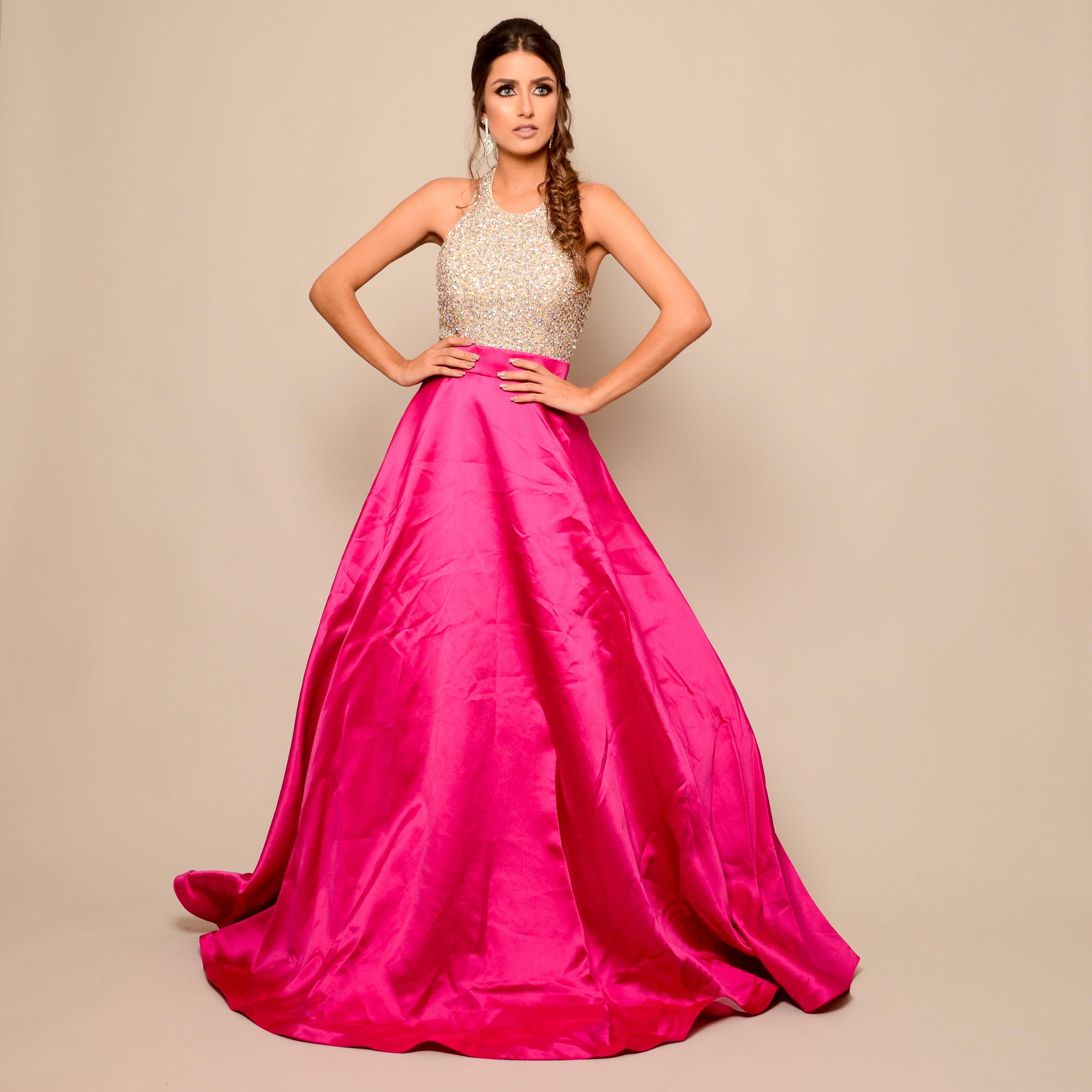 Vestido de festa modelo princesa para aluguel em Belo Horizonte e BH ...