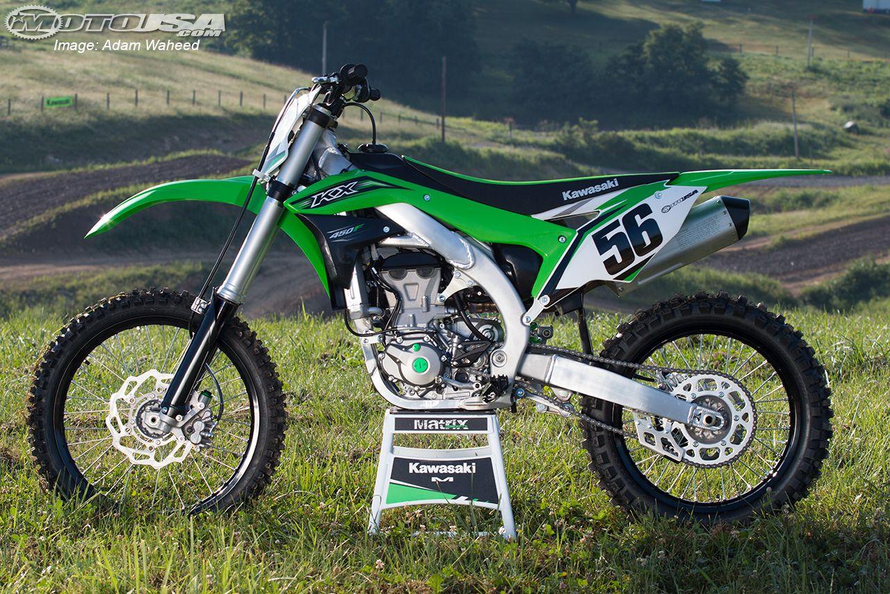 2016 Kawasaki KX450F First Ride Motorcycle USA