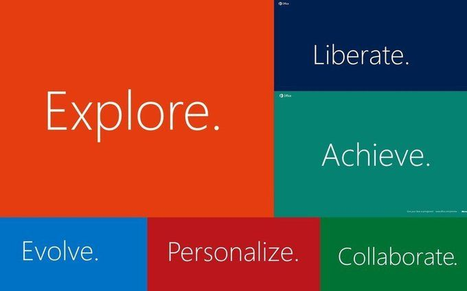 Microsoft Office 2013 Official Hd Wallpapers The Official