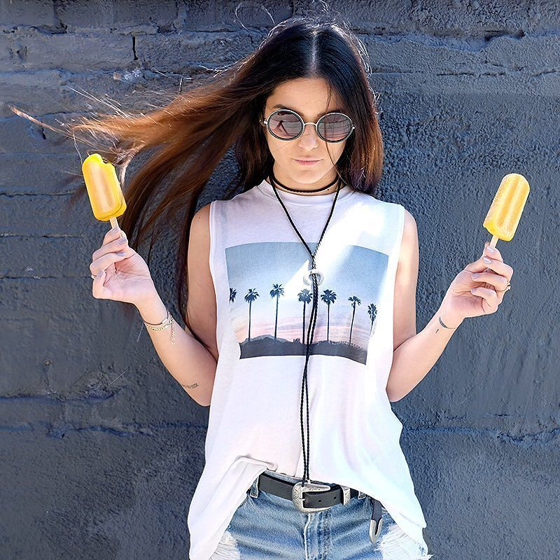 Chella Palms Tank @wildfoxcouture #sunglasses #shades