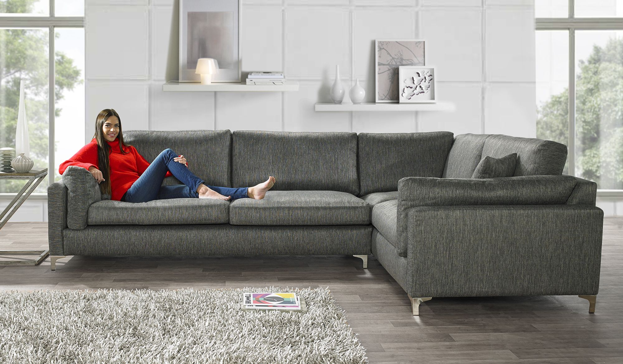 Sofa Works Beautiful Cricket Green Sofaworks Sofology 3 Seater Sofa In TheSofa