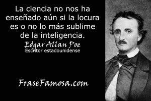 Frasi Famose Edgar Allan Poe.Frases De Edgar Allan Poe Frases De Locura Frase Famosa