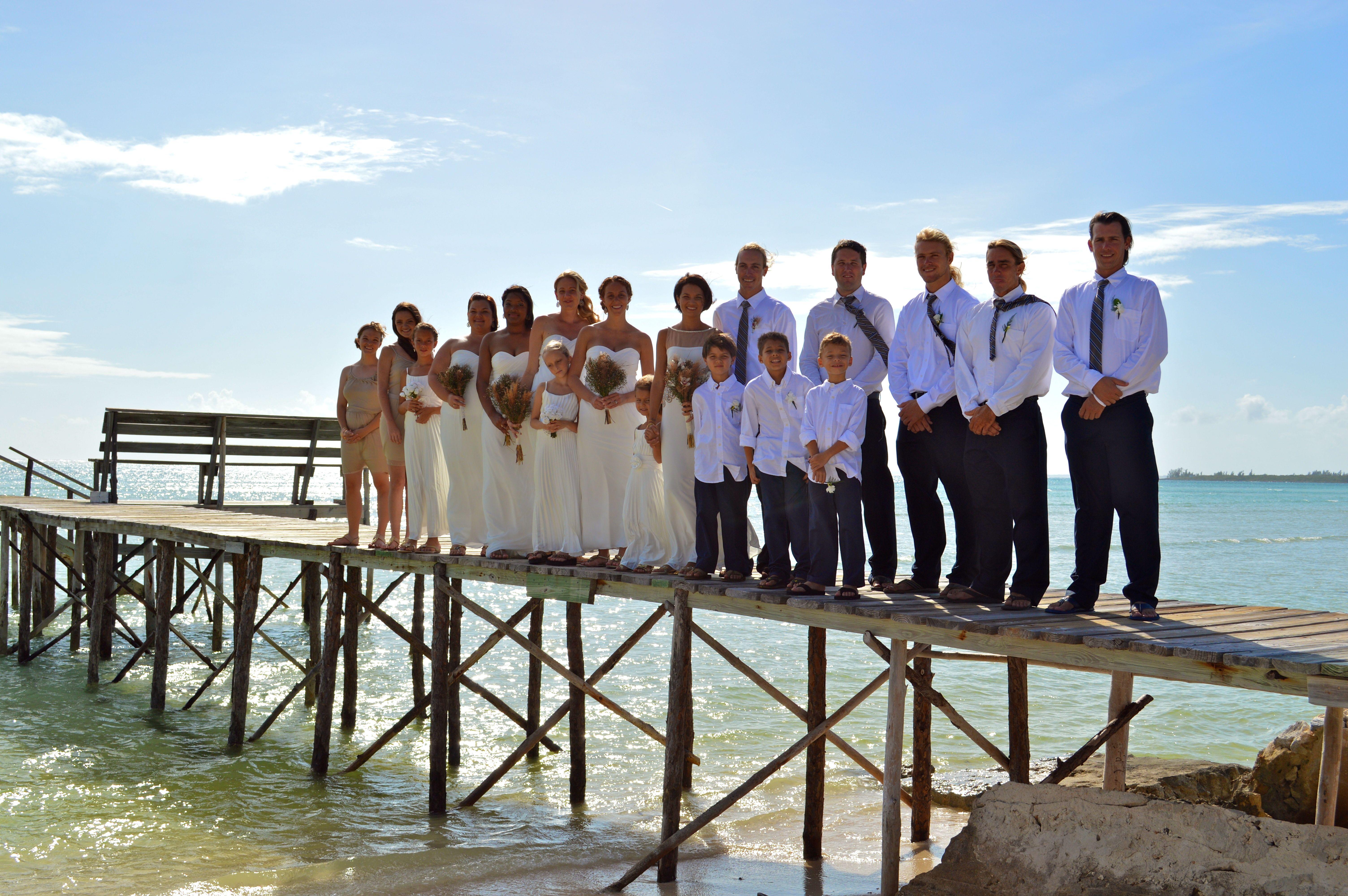 long dock wedding- perfect!