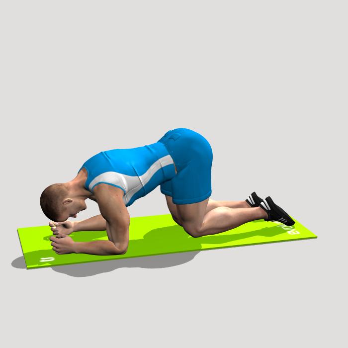 Kneeling Hip Abduction Workout Chart Hip Workout Leg Workout