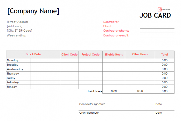 Job Card Template Excel 3 Things You Should Know Before Embarking On Job Card Template Excel Job Cards Card Template Card Templates