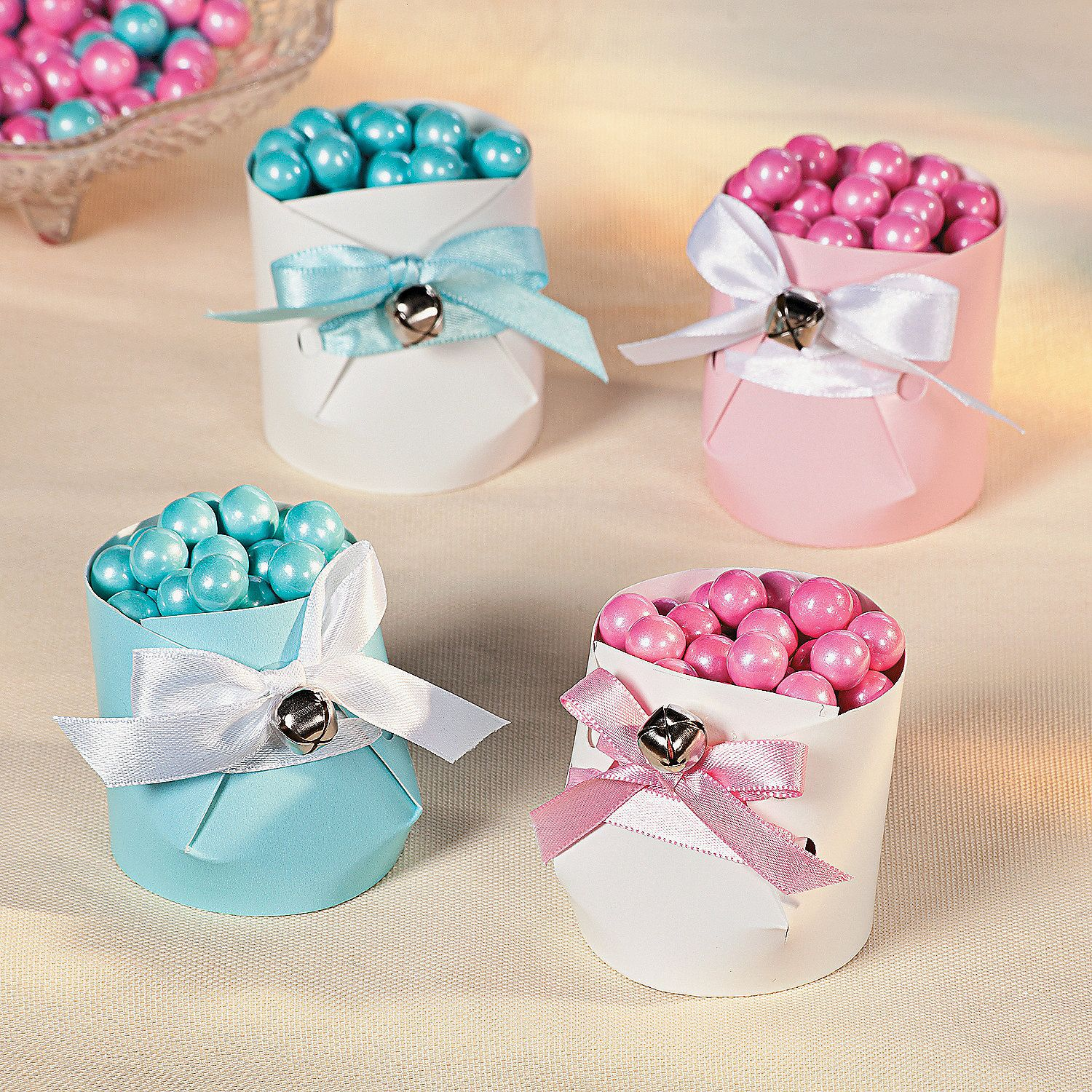 Paper Cup Baby Booties Orientaltrading Baby Shower Ideas In