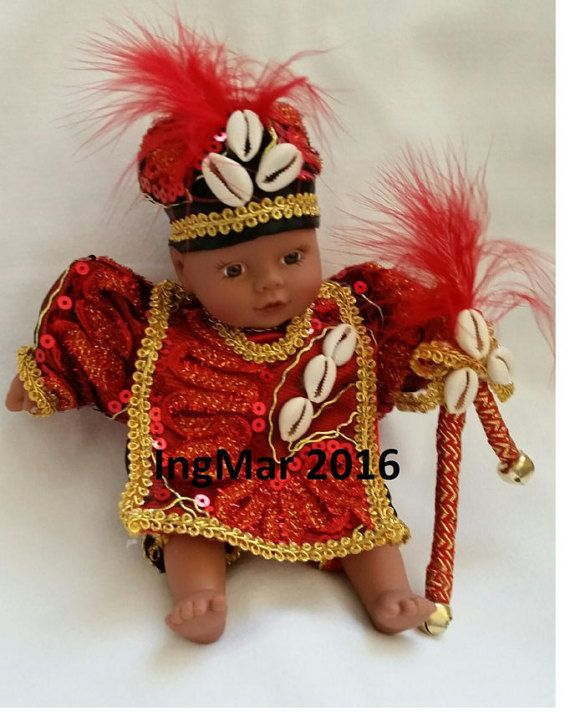 Yoruba Santeria Elegua Doll by MySpiritualCreations on Etsy