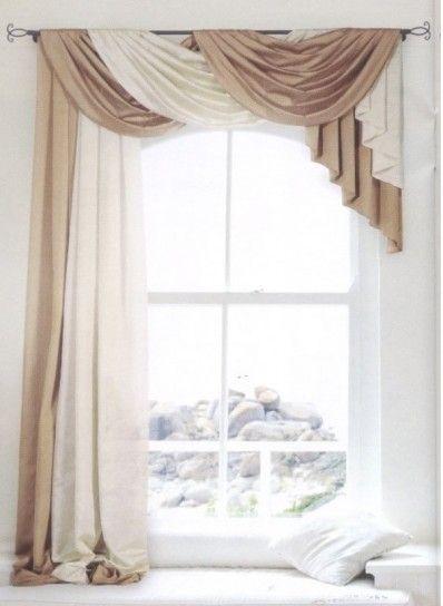 Tenda classica bicolore | idee d\'arredamento e stile shabby ...