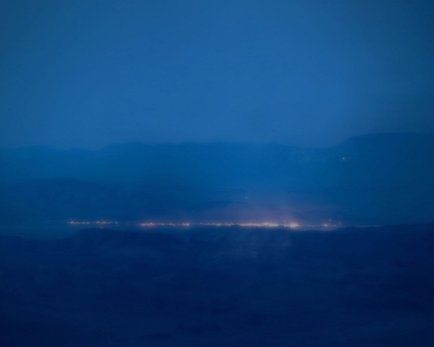 Trevor Paglen, Detachment 3, Air Force Flight Test Center, Groom Lake, NV; Distance: 26 miles, 2008