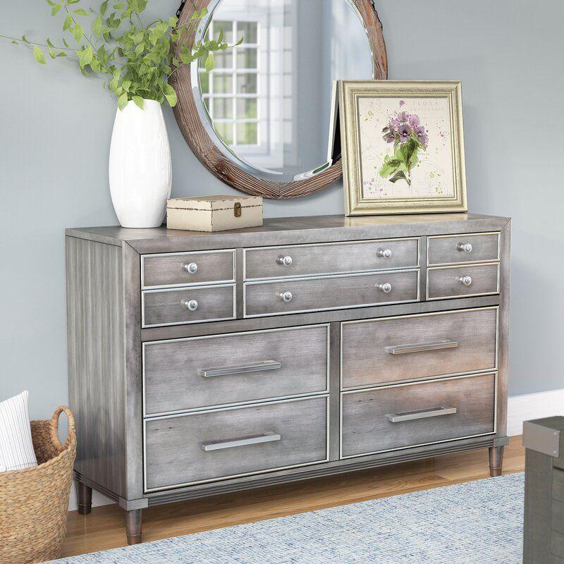 Best Laurel Foundry Modern Farmhouse Saratoga 7 Drawer Dresser 400 x 300