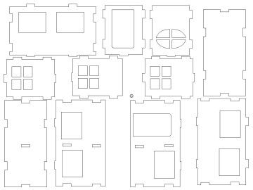 Haus 3D Modell   House 3D Model