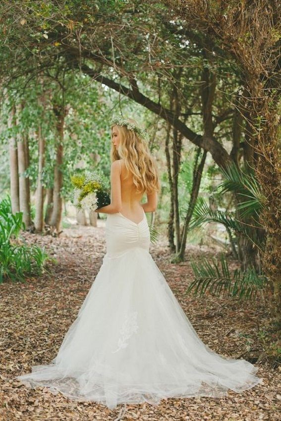 Backless wedding dresses katie may collection