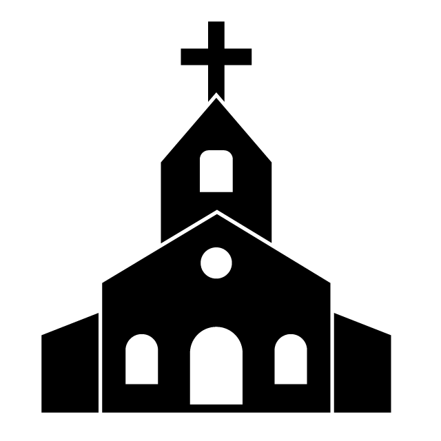 Drawing Church Download Hd Png Church Icon Clipart Black And White Clip Art