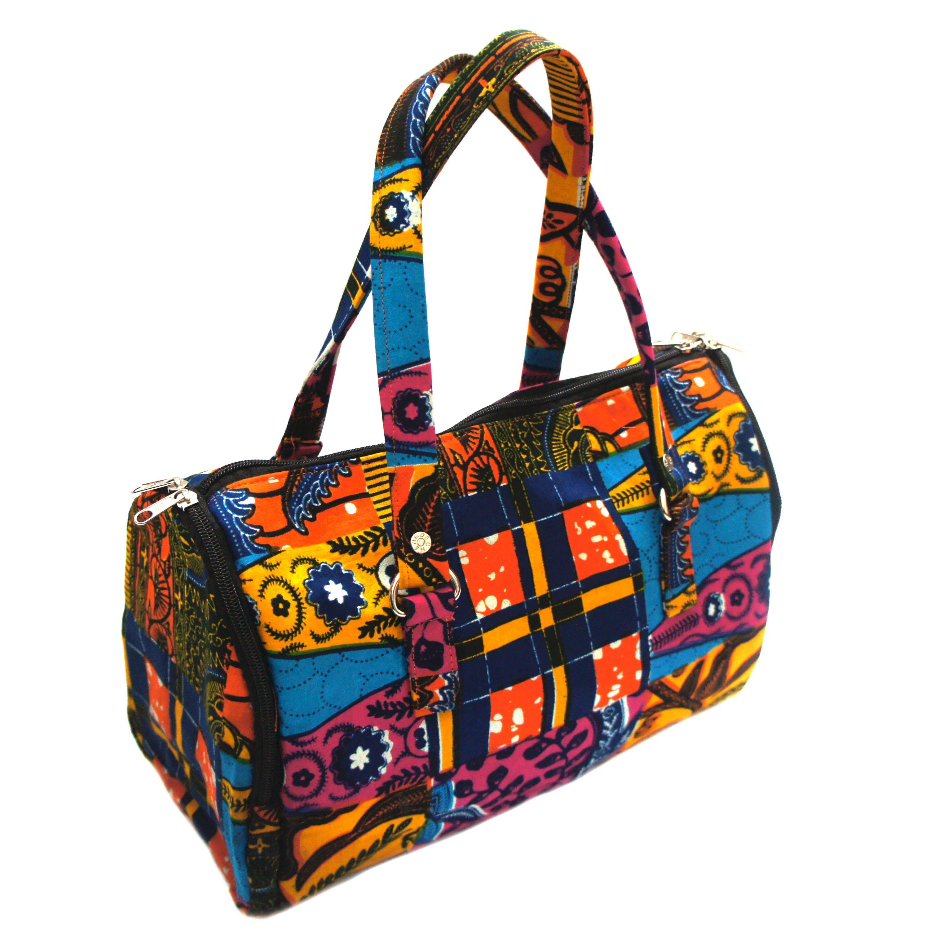 Kente Duffel Bag   Main colours:Multi