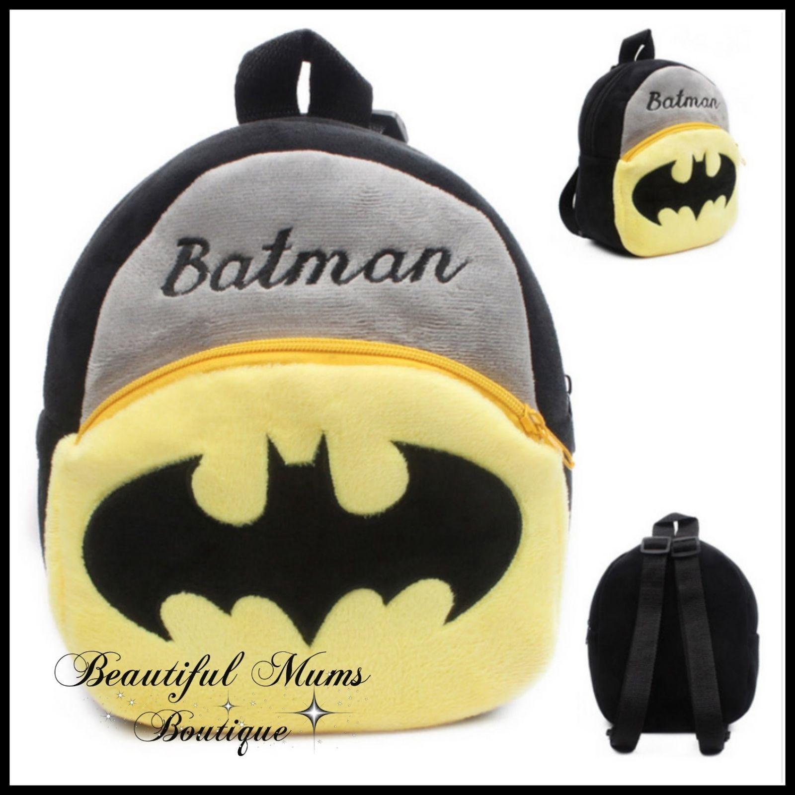 New Cartoon Kids Plush Backpack Toys Small Schoolbag
