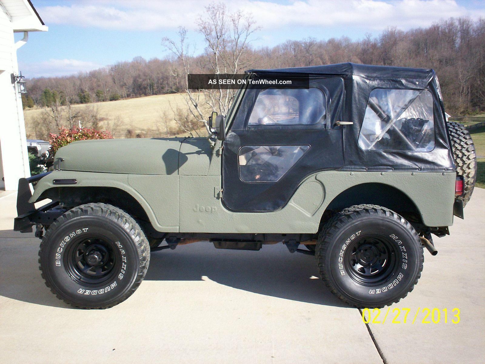 1977 jeep cj5 transmission 1977 amc jeep cj5 304 v8 3 speed lifted 33 s bedlinered great  [ 1600 x 1200 Pixel ]