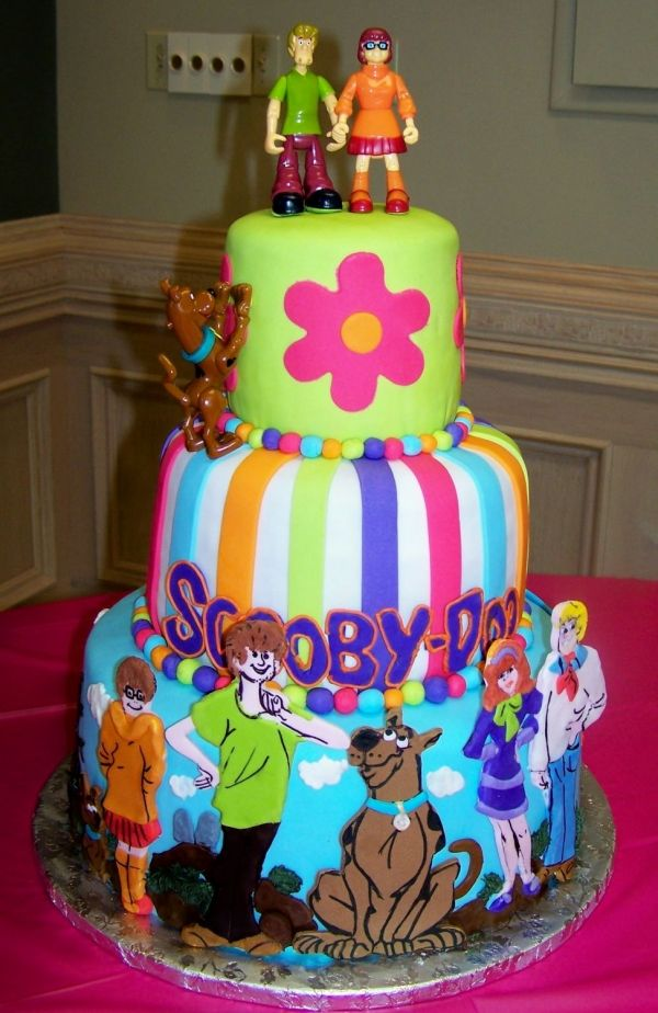 Scooby Doo Wedding Scooby Doo Birthday Cake Scooby Doo Cake