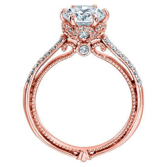 Verragio Couture 0429dr 14 Karat Engagement Ring Dream Engagement Rings Veragio Engagement Rings Verragio Engagement Rings