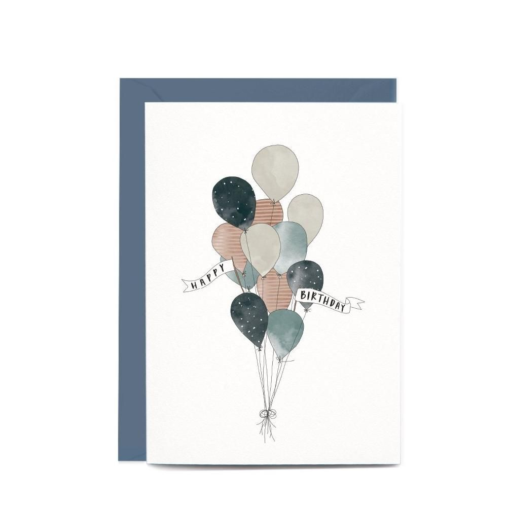 Balloon Birthday Cards - Google Search
