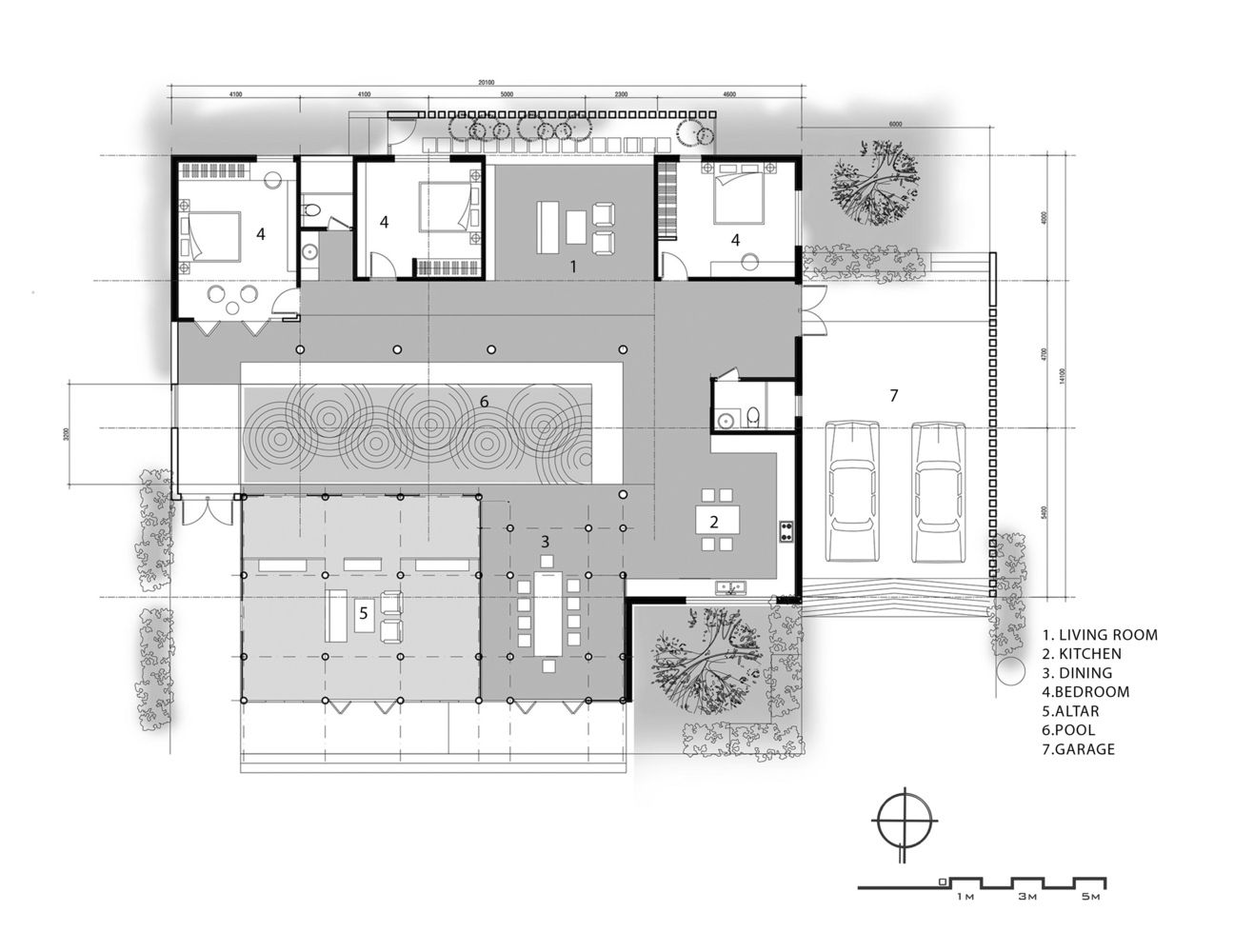 Gallery Of An S House G Architects 25 Architect House House Plans