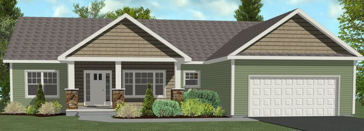 Image Detail For 1911 Total Sqft Ranch Style Home 3 Bedrooms 2 5 Ranch Style Homes House Front Porch House With Porch
