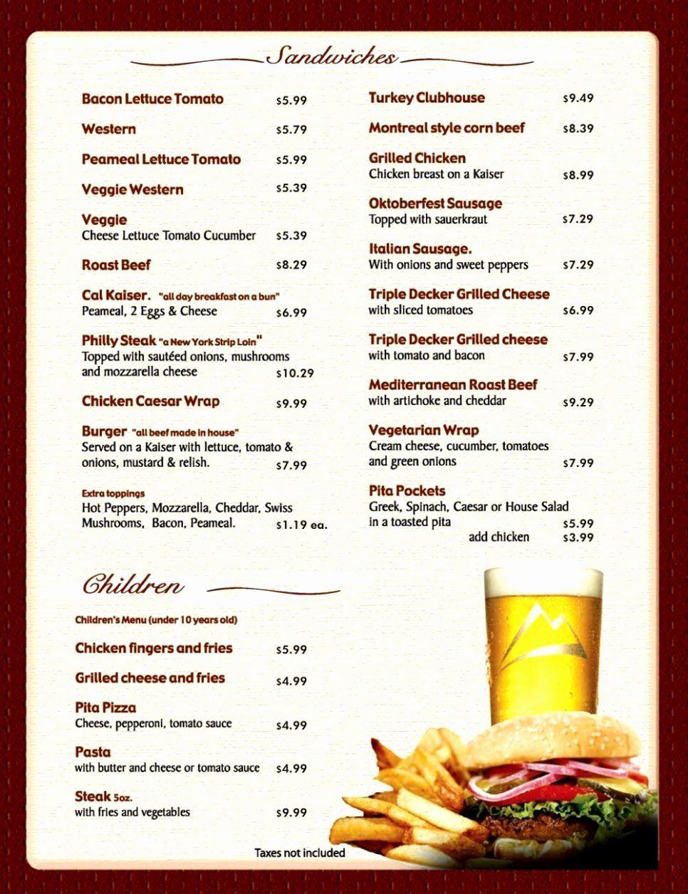 Restaurant Menu Template Microsoft Word New Free Printable Restaurant Menu Template Free Menu Templates Printable Menu Template Free Printable Menu Template Restaurant menu template microsoft word