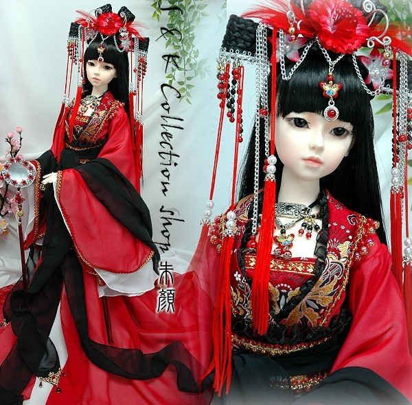 chinese dolls by rupix....great artist