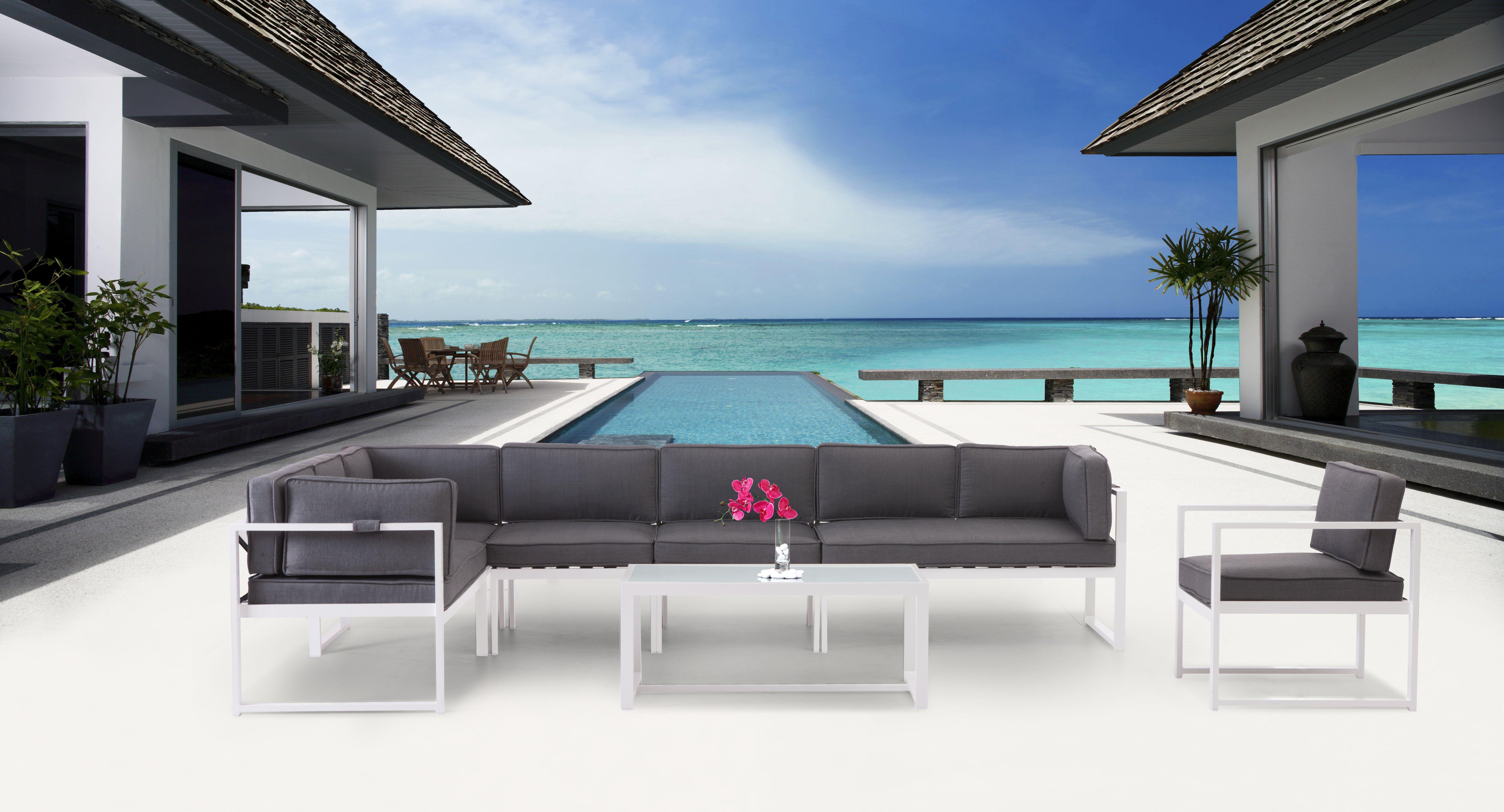 Zuo Modern Contemporary Golden Beach Collection Conversation Set   $1392 @
