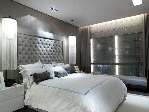 Gray White Bedroom Http Www Buzzle Com Images Home Decor