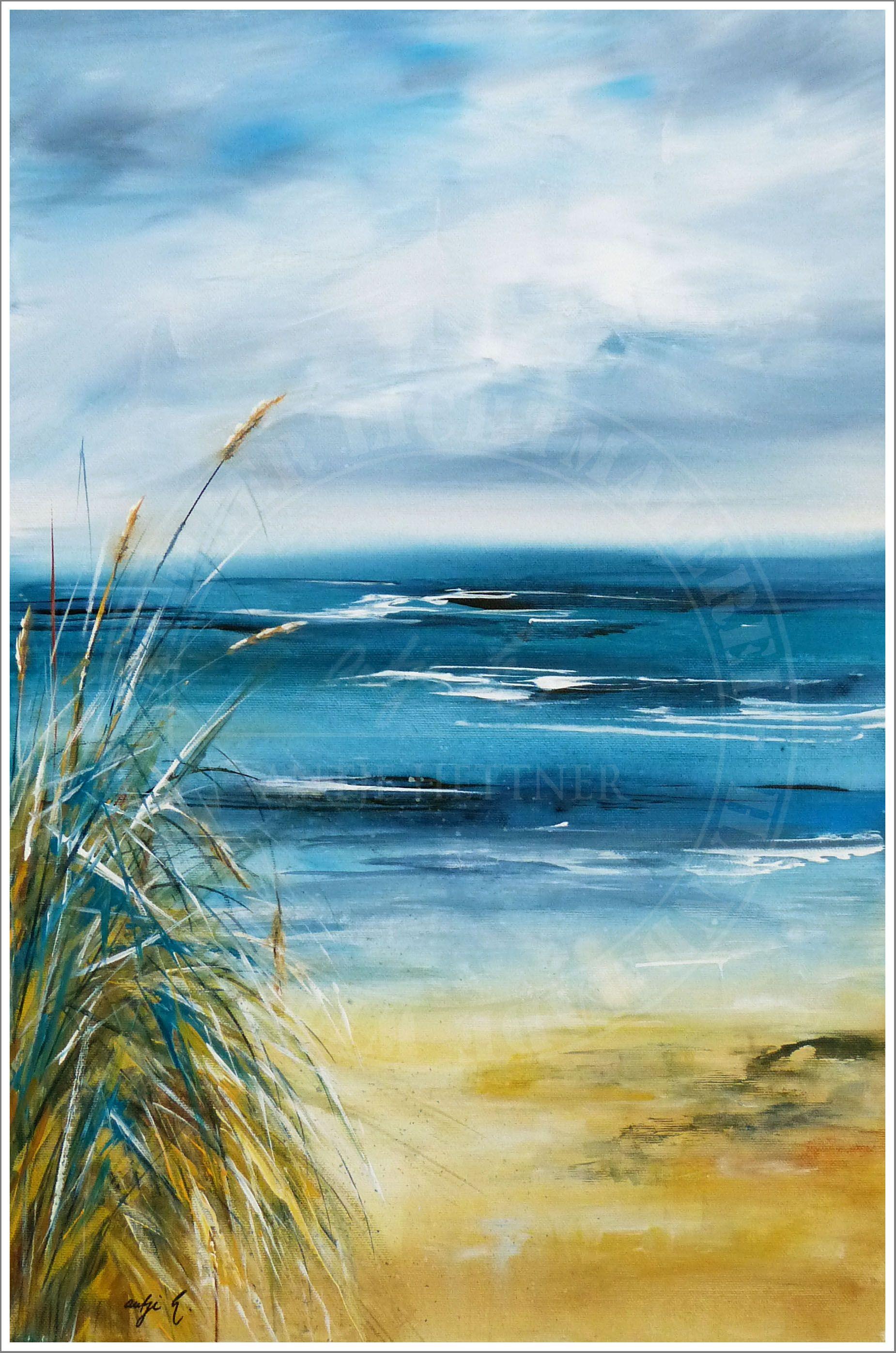 Pin Von Silvia Brunner Auf Strand Und Meer Malerei Pastell