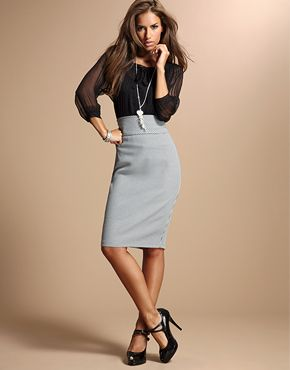 another example of the classic pencil skirt. But if you are gonna ...