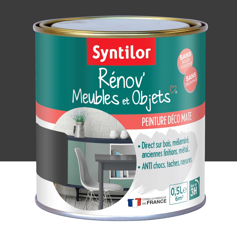 Peinture Pour Meuble Objet Et Porte Mat Syntilor Rénov