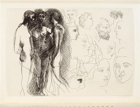 Picasso, Le chef d'oeuvre inconnu (Balzac) Réunion des Musées Nationaux-Grand Palais -