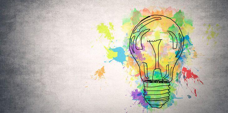 Publicidad Imagenes Abstractas: Dibujo Abstracto De Bombilla / Abstract Sketch Of Bulb