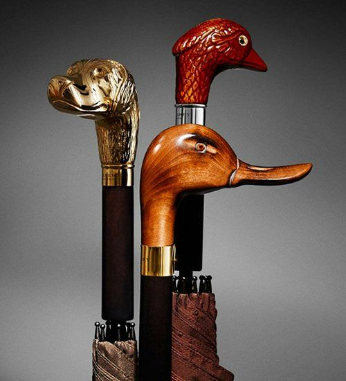 Fancy - Duck Handle Umbrella by Burberry  ...one day..............