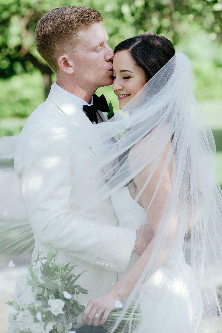 White bouquet green bouquet lush bouquet bridal bouquet wedding