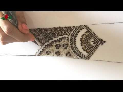 Bridal Mehndi Training : Simple intricate stylish bridal mehendi episode :11 youtube idee