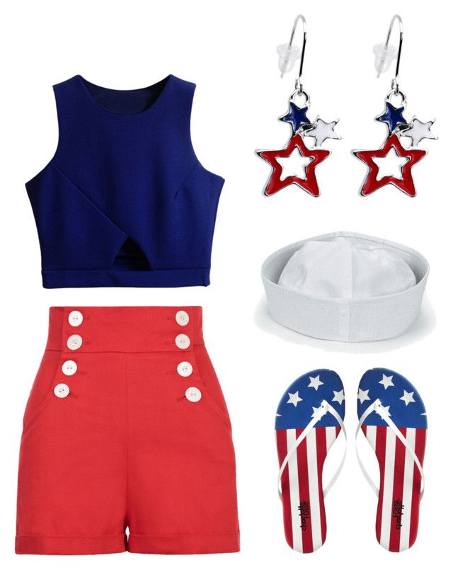 """""""Fourth of July III, Summer 2015"""" by rovereddo on Polyvore"""