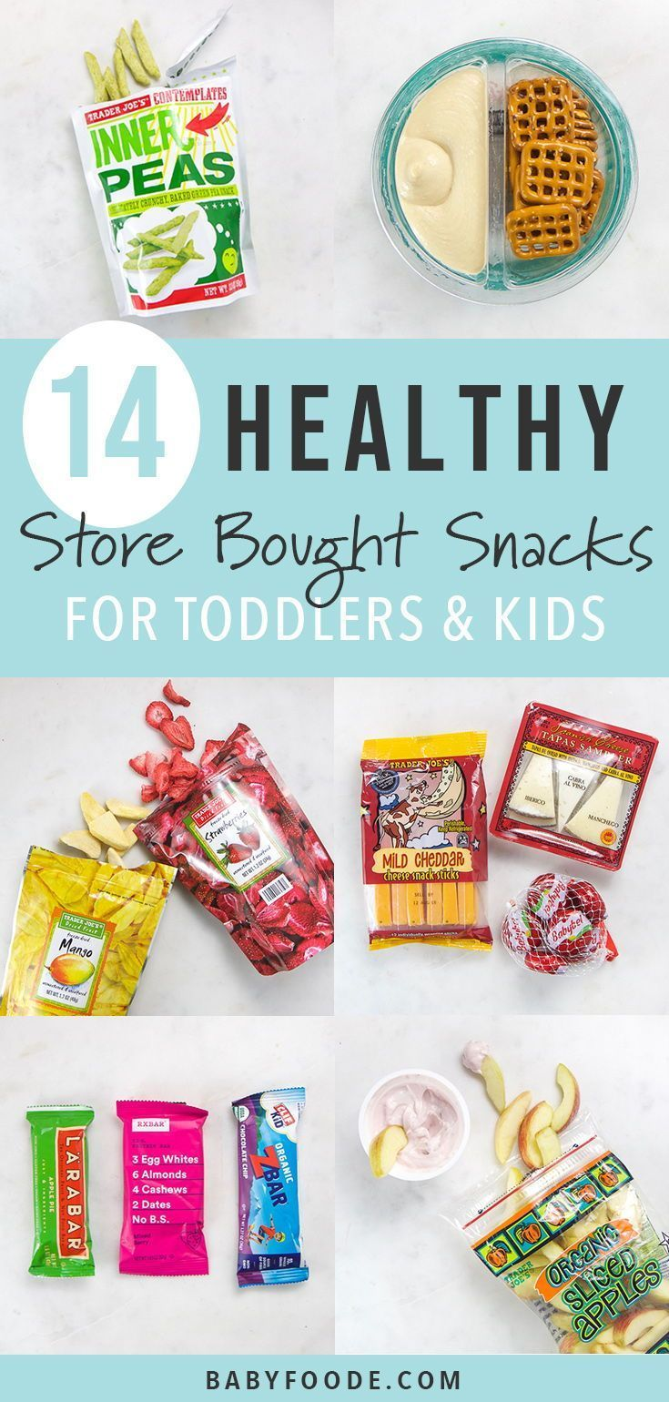 14 Healthy Store-Bought Snacks for Toddlers images