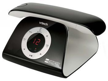 Telefone Digital Sem Fio VTech - c/ Identificador de Chamadas Retro Phone - B