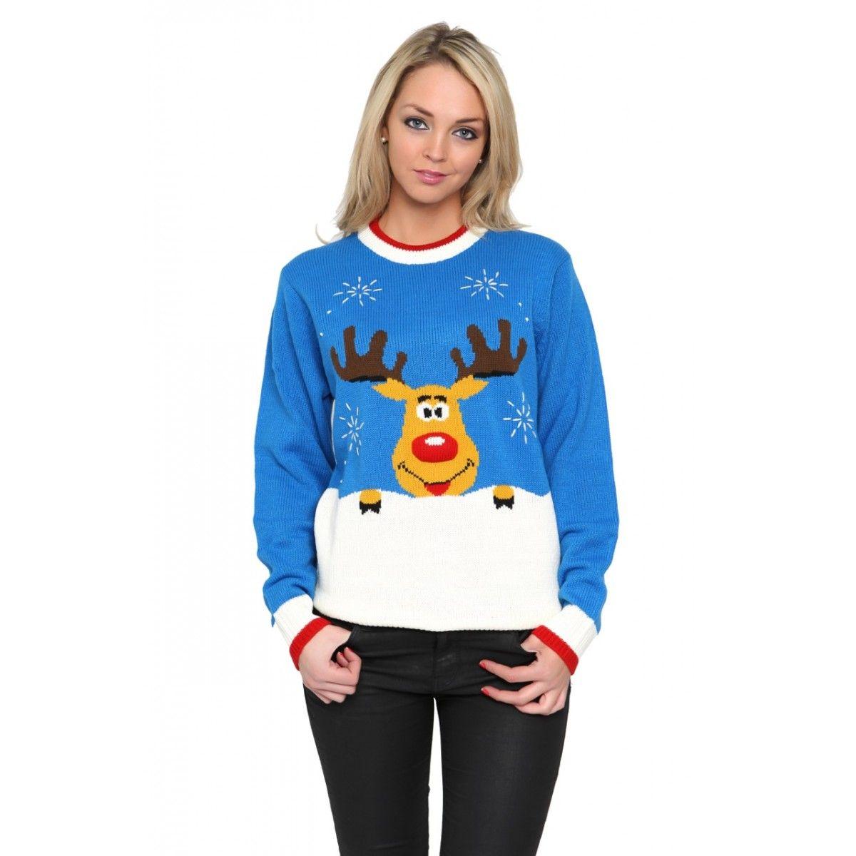 Kersttrui Dames Rendier.Rudolph Rendier Kersttrui Dames Van Alles Sweatshirts Graphic