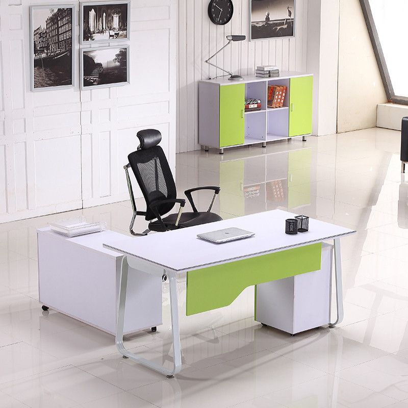 Excellent Quality Modern Wooden Office Furniture Melamine Manager White  Desk   Buy Office Furniture Director Desk,White Melamine Modern Office  Staff Desk ...