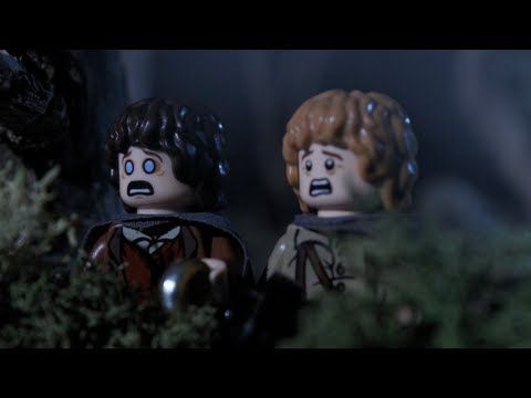lego hobbit halloween trick goes horribly wrong