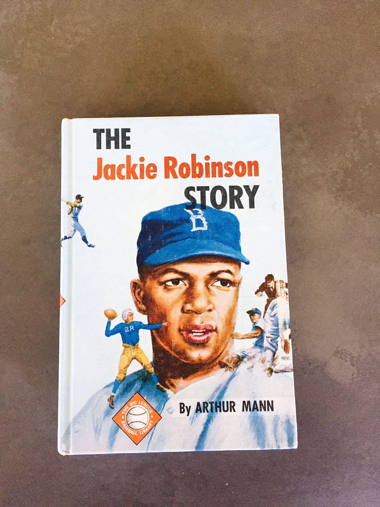 The Jackie Robinson Story Arthur Mann Baseball Library