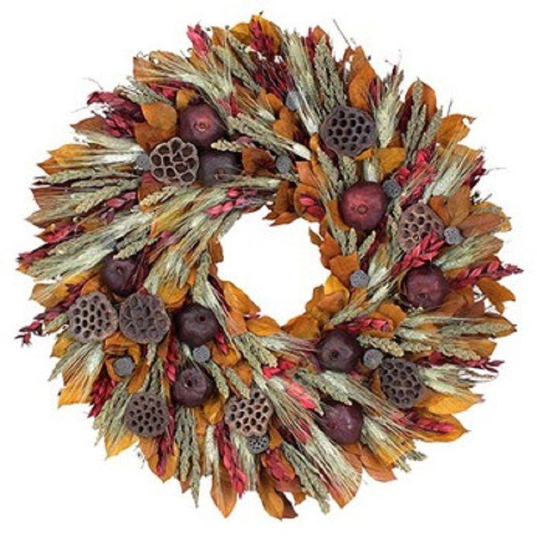 Wreaths For Door - Pomegranate Harvest Large Wreath, $199.99 (http://www.wreathsfordoor.com/pomegranate-harvest-large-wreath/)