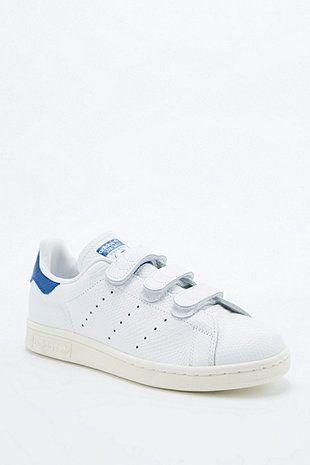 basket femme adidas scratchs stan smith bleue