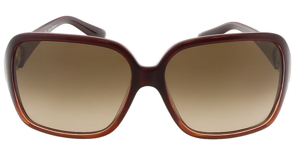Salvatore Ferragamo SF620SR 223 Crystal Rust Oversized Square sunglasses